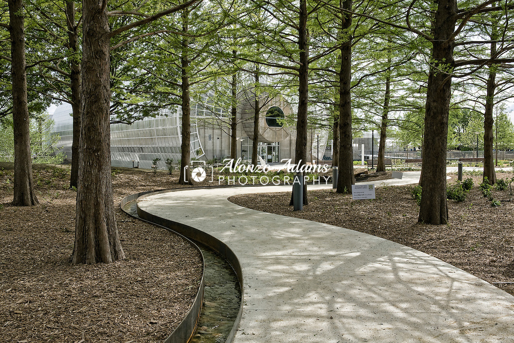 A view of the Myriad Botanical Gardens in downtown Oklahoma City, Okla. on Monday, May 2, 2011.  (Photo by Alonzo J. Adams)