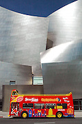 Starline Tour Bus in Front of Disney Concert Hall