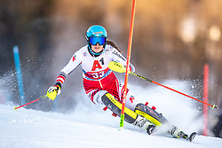 12.01.2020, Keelberloch Rennstrecke, Altenmark, AUT, FIS Weltcup Ski Alpin, Alpine Kombination, Slalom, Damen, im Bild Rosina Schneeberger (AUT) // Rosina Schneeberger of Austria during the women's Alpine combined Slalom competition for the FIS ski alpine world cup at the Keelberloch Rennstrecke in Altenmark, Austria on 2020/01/12. EXPA Pictures © 2020, PhotoCredit: EXPA/ Johann Groder