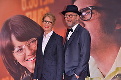 © Licensed to London News Pictures. 07/10/2017. London, UK. VALERIE FARIS and JONATHAN DAYTON attends the European film premiere of Battle Of The Sexes showing as part of the BFI London Film Festival. Photo credit: Ray Tang/LNP