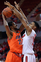 10 December 2016:   during an NCAA  mens basketball game between the UT Martin Skyhawks and the Illinois State Redbirds in a non-conference game at Redbird Arena, Normal IL