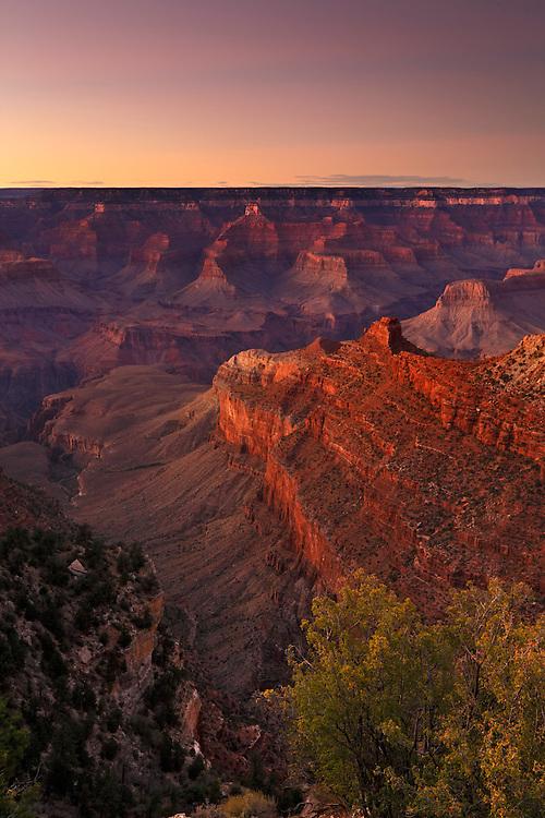 Vista desde Mather Point, Grand Canyon National Park, Arizona (Estados Unidos)
