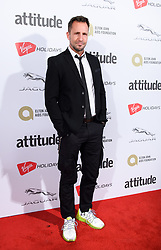 EDITORIAL USE ONLY<br /> Jeremy Sheffield attends the Virgin Holidays Attitude Awards at the Roundhouse, London.