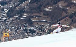 26.12.2017, Stelvio, Bormio, ITA, FIS Weltcup, Ski Alpin, Abfahrt, 1. Training, Herren, im Bild Romed Baumann (AUT) // Romed Baumann of Austria in action during 1st practice for the mens Downhill of  FIS Ski Alpine Worldcup at the Stelvio course, Bormio, Italy on 2017/12/26. EXPA Pictures © 2017, PhotoCredit: EXPA/ Johann Groder