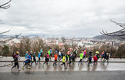 Priprave na Ljubljanski maraton 2018, on March 31, 2018 in  Ljubljana's Castle, Ljubljana, Slovenia. Photo by Vid Ponikvar / Sportida