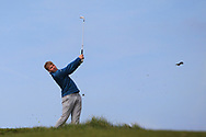 Alan Fahy on the 9th tee during Round 4 of The West of Ireland Open Championship in Co. Sligo Golf Club, Rosses Point, Sligo on Sunday 7th April 2019.<br /> Picture:  Thos Caffrey / www.golffile.ie