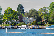 Henley on Thames. United Kingdom.   View of the Phyllis Court Club.  Thursday  17/05/2018<br /> <br /> [Mandatory Credit: Peter SPURRIER:Intersport Images]<br /> <br /> LEICA CAMERA AG  LEICA Q (Typ 116)  f5  1/1000sec  35mm  42.5MB