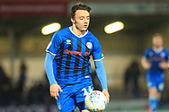 Ollie Rathbone during the EFL Sky Bet League 1 match between Rochdale and Oxford United at Spotland, Rochdale, England on 12 March 2019.