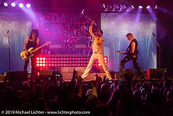Hairball concert at the Broken Spoke Saloon during Daytona Bike Week. Ormond Beach, FL. USA. Saturday March 17, 2018. Photography ©2018 Michael Lichter.