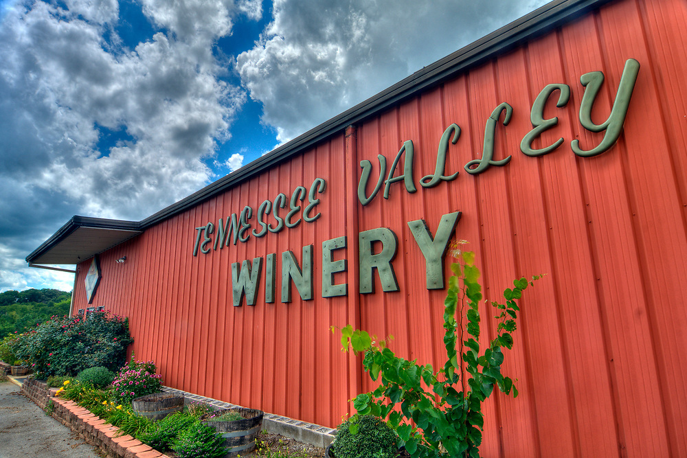 Tennessee Valley Winery in Loudon, Tennessee on Friday, July 14, 2017. Copyright 2017 Jason Barnette