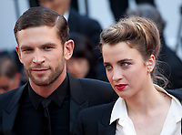 Arnaud Valois and Adele Haenel, arriving to the Closing Ceremony and awards at the 70th Cannes Film Festival Sunday 28th May 2017, Cannes, France. Photo credit: Doreen Kennedy