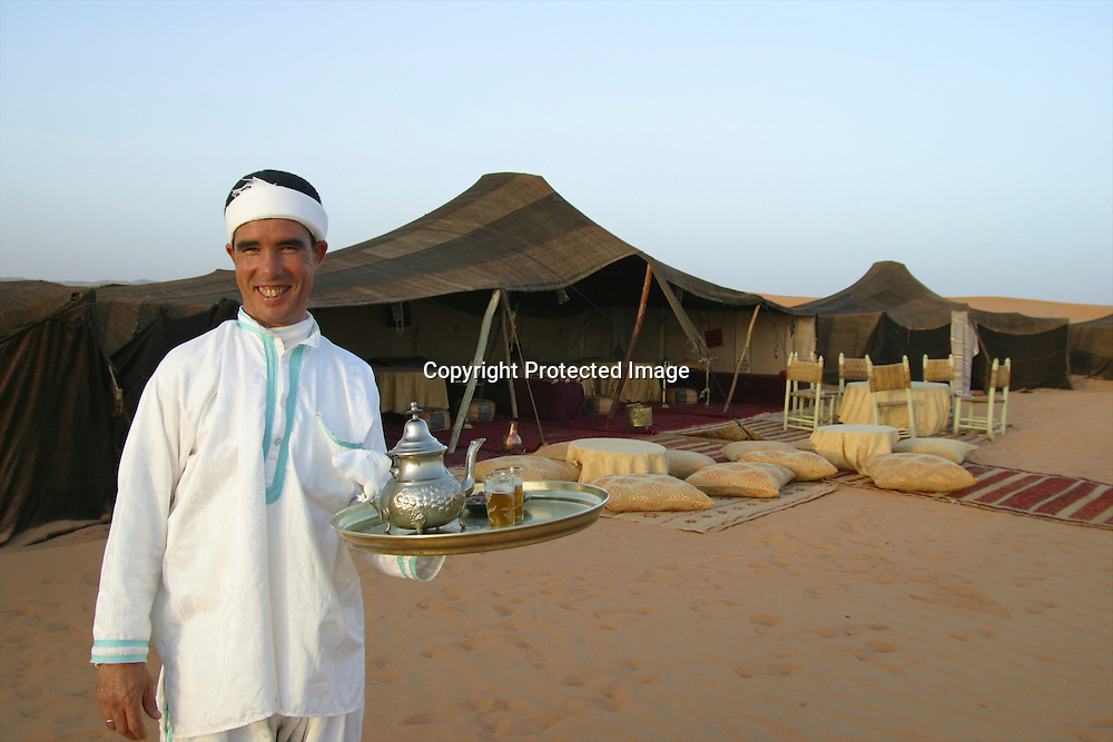 hotel in the moroccan dessert