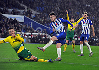 Football - 2019 / 2020 Premier League - Brighton & Hove Albion vs. Norwich City<br /> <br /> Aaron Connolly of Brighton, at The Amex.<br /> <br /> COLORSPORT/ANDREW COWIE