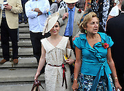 GOODWOOD - Ladies day at Goodwood 29 July 2010. STEPHEN SIMPSON.