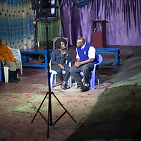 Lilian Mutheu speaks with Pastor Francis Nthae. Lilian mentors on sexual health and reproductive rights in Mukuru Kwa Njenga, Nairobi and says she has been inspired and supported by her faith and church.