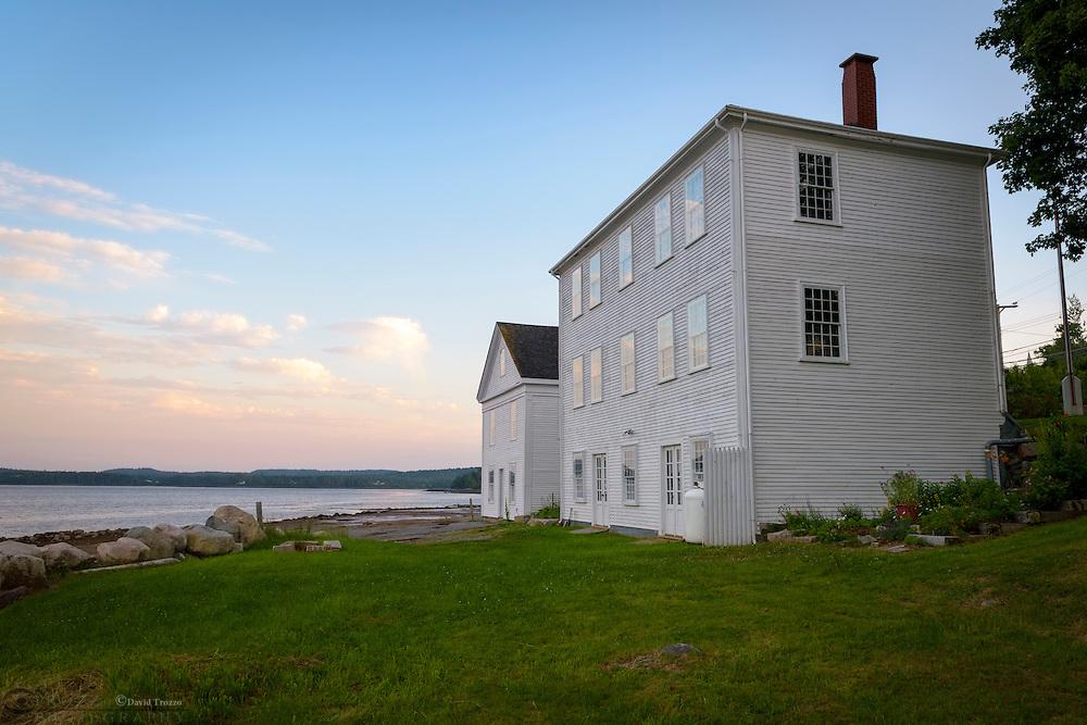 Machias historical society buildings, Machias Maine.