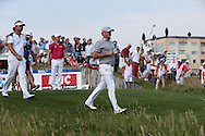 Jamie Donaldson (WAL) leads off from the 17th tee during Round Two of the 2015 Alstom Open de France, played at Le Golf National, Saint-Quentin-En-Yvelines, Paris, France. /03/07/2015/. Picture: Golffile   David Lloyd<br /> <br /> All photos usage must carry mandatory copyright credit (© Golffile   David Lloyd)