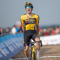 WIJSTER (NED) June 19: <br /> CYCLING <br /> Dutch Nationals Road U23 up and around the Col du VAM<br /> Mick Van Dijke (Netherlands / Team Jumbo Visma Academy) is second in the race after his twin brother Tim
