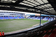 Empty stadium before during the Sky Bet League 1 match between Oldham Athletic and Chesterfield at Boundary Park, Oldham, England on 28 March 2016. Photo by Simon Brady.