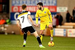 Robert Harris of Bristol Rovers takes on Sam Kelly of Port Vale - Mandatory by-line: Robbie Stephenson/JMP - 18/02/2017 - FOOTBALL - Vale Park - Stoke-on-Trent, England - Port Vale v Bristol Rovers - Sky Bet League One
