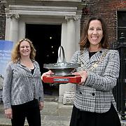 18.8.2021 DCCCC Mayor Alison Gilliland visit 14 Henrietta Street