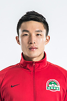 **EXCLUSIVE**Portrait of Chinese soccer player Han Xuan of Henan Jianye F.C. for the 2018 Chinese Football Association Super League, in Zhengzhou city, central China's Henan province, 21 February 2018.