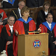 Edinburgh 10th Feb 2007McAleese: Irish president Mary McAleese received an honorary degree today from one of Scotland's oldest universities.