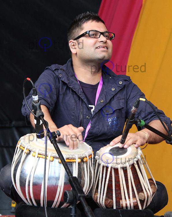 02 London Mela - Europe's Largest Outdoor Asian Festival, Gunnersbury Park, Ealing, London, UK. 04 September 2011. Pictures by Richard Goldschmidt