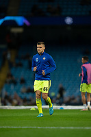 Emir Dilaver of Dinamo Zagreb during the pre-match warm-up <br /> <br /> Football - 2019 / 2020 UEFA Champions League - Champs Lge Grp C: Man City-D Zagreb<br /> <br /> , at Etihad Stadium<br /> <br /> Colorsport / Terry Donnelly
