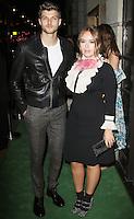Tanya Burr & Jim Chapman, A Green Carpet Challenge BAFTA Night To Remember, BAFTA Piccadilly, London UK, 18 September 2016, Photo by Brett D. Cove
