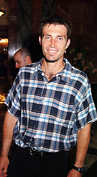 Tennis player PAT CASH at a party in London <br /> on 15th May 2000.   OEB 55