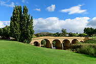 Australia; Australian,  Tasmania; Central Highlands; Richmond, Coal River, Richmond Historic Bridge