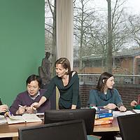 Leuven, Belgium 28 January 2014<br /> Researchers Paola Palmero, Agnese Panozzo, Scheling Wibowo, Hai Hoang Nguyen and professor Ann Van Loey.<br /> Photo: Ezequiel Scagnetti