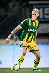 Lex Immers of ADO Den Haag during the Dutch Eredivisie match between sc Heerenveen and ADO Den Haag at Abe Lenstra Stadium on April 17, 2018 in Heerenveen, The Netherlands