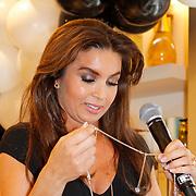 NLD/Amsterdam/20120424 - Lancering juwelenlijn Wishes by Rossana Kluivert-Lima, Rossana Kluivert-Lima