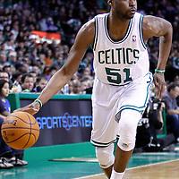 04 March 2012: Boston Celtics point guard Keyon Dooling (51) is seen during the Boston Celtics 115-111 (OT) victory over the New York Knicks at the TD Garden, Boston, Massachusetts, USA.