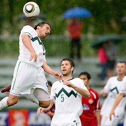 20100529: ITA, Slovenian National football team vs FC Sudtirol, Brunico