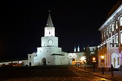June 24, 2017 - Entrada do complexo arquitetônico e histórico do Kremlin de Kazan, cidadela histórica principal do Tartaristão, declarado Património Mundial pela UNESCO em 2000. Combina harmoniosamente elementos da Igreja Ortodoxa Oriental e da cultura Islâmica às margens do rio Volga, neste sábado, 24. A cidade é uma das 4 sedes da Copa das Confederações FIFA 2017 na Russia. (Credit Image: © Heuler Andrey/Fotoarena via ZUMA Press)