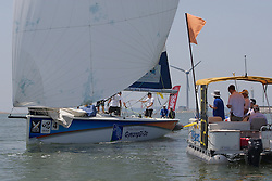 World Match Racing Tour 2010. Korea Match Cup, Gyeonggi, Korea. 9th June 2010. Johnie Berntsson.