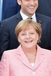 July 7, 2017 - Hamburg, Germany - Angela Merkel, Emmanuel Macron.G20 SUMMIT: Reception and concert at Elbphilharmonie, Hamburg, Germany - 07 Jul 2017.Credit: Timm/face to face (Credit Image: © face to face via ZUMA Press)