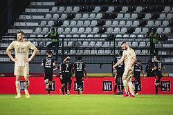 during football match between NS Mura and PSV Eindhoven in Third Round of UEFA Europa League Qualifications, on September 24, 2020 in Stadium Fazanerija, Murska Sobota, Slovenia. Photo by Blaz Weindorfer / Sportida