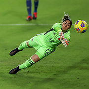 ORLANDO, FL - JANUARY 22:  Sandra Sepulveda #12 of Columbia watches as a goal is scored by the United Statesc at Exploria Stadium on January 22, 2021 in Orlando, Florida. (Photo by Alex Menendez/Getty Images) *** Local Caption *** Sandra Sepulveda