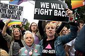 Supreme Court GLBTQ Discrimination Protest