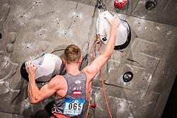 SCHUBERT Jakob of Austria during Finals IFSC World Cup Competition in sport climbing Kranj 2019, on September 29, 2019 in Arena Zlato polje, Kranj, Slovenia. Photo by Peter Podobnik / Sportida