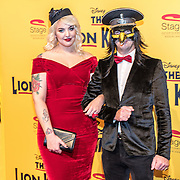 NLD/Scheveningen/20161030 - Premiere musical The Lion King, Emmaly Brown  en ...............