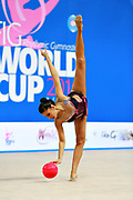Varvara Filiou, born in Maurosi on 29 December 1994, is a retired Greek rhythmic gymnast. It is the most famous and awarded Greek athlete of this sport. Varvara is an 8 time Greek National All-around Champion.
