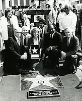 1981 Vikki Carr's Walk of Fame ceremony