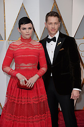 Ginnifer Goodwin and her husband Joshua Dallas arrive for the 89th Academy Awards (Oscars) ceremony at the Dolby Theater in Los Angeles, CA, USA, February 26, 2017. Photo by Lionel Hahn/ABACAPRESS.COM