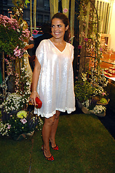 Fashion designer DANIELLA HELAYEL at the launch party for the Mappin & Webb Regents Street branch at 132 Regent Street, London on 19th June 2007.<br />
