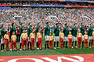 Team of Mexico before the 2018 FIFA World Cup Russia, Group F football match between Germany and Mexico on June 17, 2018 at Luzhniki Stadium in Moscow, Russia - Photo Thiago Bernardes / FramePhoto / ProSportsImages / DPPI